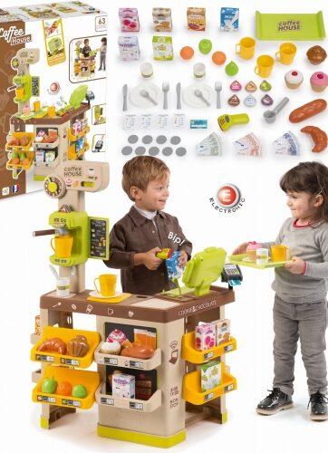 Zdjęcie Duży zestaw sklep z kawą - Smoby - producenta SMOBY