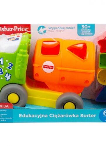 Zdjęcie Edukacyjna ciężarówka sorter - producenta MATTEL