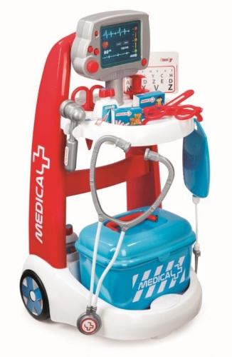 Zdjęcie Elektroniczny wózek medyczny - Smoby - producenta SMOBY