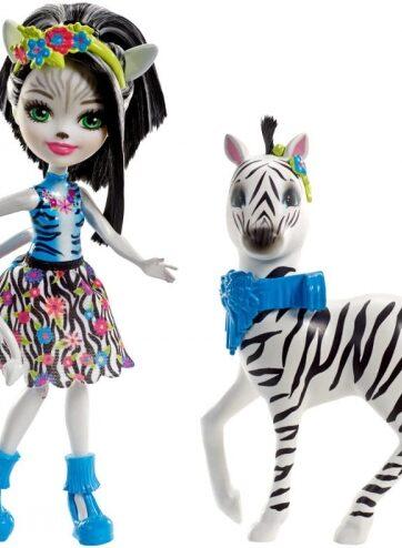 Zdjęcie Enchantimals Lalka duże zwierzę zebra - producenta MATTEL