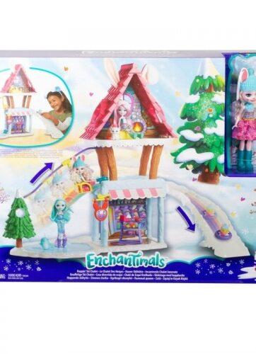 Zdjęcie Enchantimals Zimowa chatka dla lalek - producenta MATTEL
