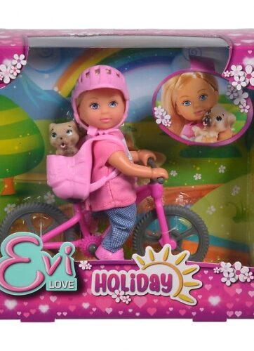 Zdjęcie Evi na rowerze górskim Simba - producenta SIMBA