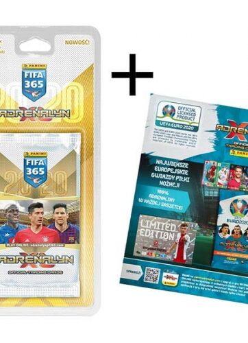 Zdjęcie FIFA 365 Adrenalin 2020 - 5 saszetek +1 karta limitowana - producenta PANINI