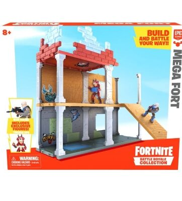 """Zdjęcie FORTNITE - Zestaw """"Mega Fort"""" z 2 figurkami i akcesoriami - producenta EPEE"""