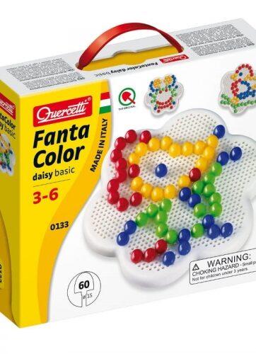 Zdjęcie FantaColor 60 gwoździ układanka - Quercetti - producenta QUERCETTI