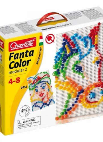 Zdjęcie FantaColor mozaika modular2 300el - Quercetti - producenta QUERCETTI