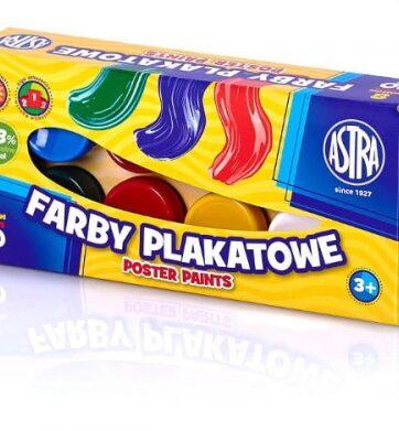 Zdjęcie Farby plakatowe 8 kolorów ASTRA - producenta ASTRA