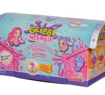 Zdjęcie Glibbi Mermaid Slime Glitter z figurką Simba - producenta SIMBA