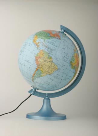 Zdjęcie Globus 250 polityczno-fizyczny podświetlany - producenta ZACHEM