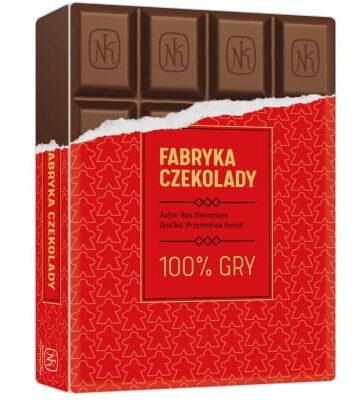 Zdjęcie Gra Fabryka czekolady - Nasza Księgarnia - producenta NASZA KSIĘGARNIA