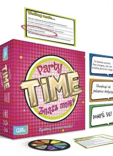 Zdjęcie Gra Party Time: Znasz mnie? - producenta ALBI
