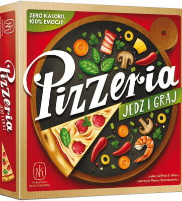 Zdjęcie Gra Pizzeria jedz i graj - producenta NASZA KSIĘGARNIA