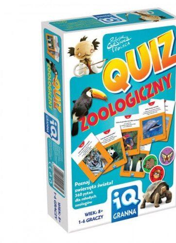 Zdjęcie Gra Quiz zoologiczny GRANNA - producenta GRANNA
