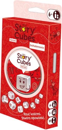 Zdjęcie Gra Story Cubes - Bohaterowie (nowa edycja) REBEL - producenta REBEL
