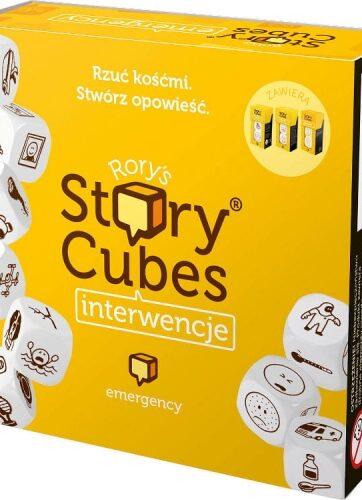 Zdjęcie Gra Story Cubes: Interwencje - producenta REBEL