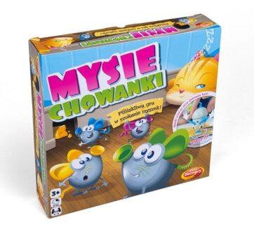 Zdjęcie Gra dla dzieci Mysie chowanki - Dumel Discovery - producenta DUMEL
