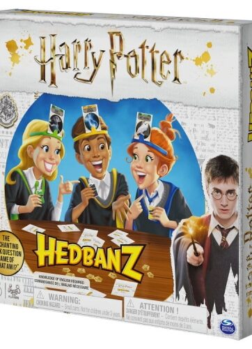 Zdjęcie Hedbanz Harry Potter Kim jestem? gra towarzyska - producenta SPIN MASTER