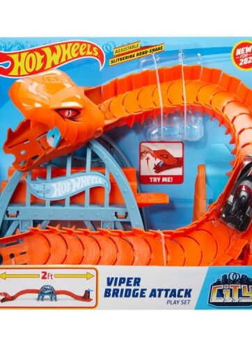 Zdjęcie Hot Wheels CITY zestaw Viper Bridge Attack - producenta MATTEL