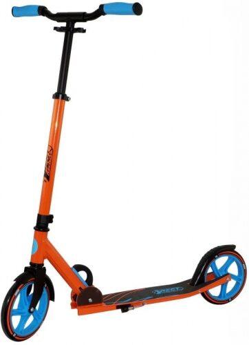 Zdjęcie Hulajnoga dwukołowa 205 pomarańczowo-niebieska BEST Sporting - producenta BEST Sporting