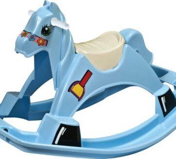 Zdjęcie Huśtawka konik koń na biegunach niebieski - PalPlay - producenta PALPLAY