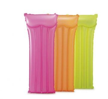 Zdjęcie INTEX Materac neonowe kolory (3 kolory do wyboru) 183x76cm - producenta INTEX