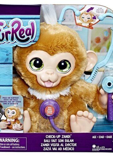 Zdjęcie Interaktywna małpka Zandi z wizytą u doktora FurReal - producenta HASBRO