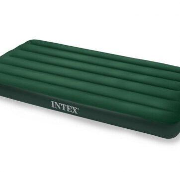 Zdjęcie Jednoosobowe łóżko dmuchane 99x191x22cm z pompką na baterie - producenta INTEX