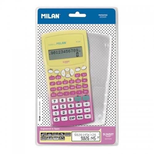 Zdjęcie Kalkulator naukowy 240 funkcji różowy Milan - producenta MILAN
