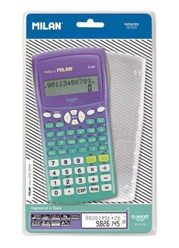 Zdjęcie Kalkulator naukowy 240 funkcji zielony Milan - producenta MILAN
