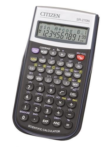 Zdjęcie Kalkulator naukowy CITIZEN SR-270N 236 funkcji - producenta EURO-TRADE