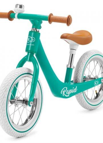 Zdjęcie Kinderkraft - Rowerek biegowy magnesium rapid zielony - producenta KINDERKRAFT