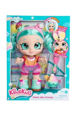 Zdjęcie Kindi Kids Lalka Peppa Mint + akcesoria na przekąskę - producenta TM TOYS