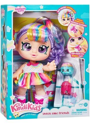 Zdjęcie Kindi Kids Lalka Rainbow Kate + akcesoria na przekąskę - producenta TM TOYS
