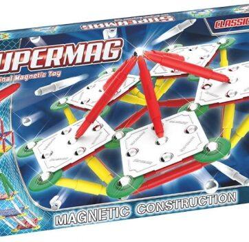 Zdjęcie Klocki magnetyczne - Supermag Classic Primary 120 elementów - producenta NAVO
