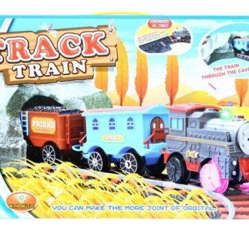Zdjęcie Kolejka pociąg z torami na baterie - producenta EURO-TRADE