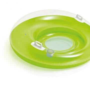 Zdjęcie Koło do pływania z oparciem i siatką 2 kolory 119cm - Intex - producenta INTEX