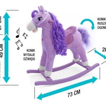 Zdjęcie Koń na biegunach Princess - producenta MILLY MALLY