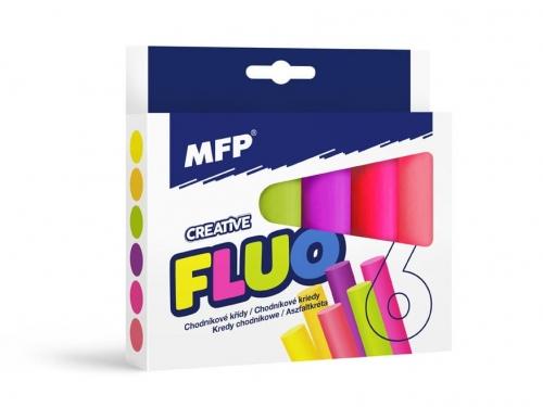 Zdjęcie Kreda chodnikowa owalna fluo 6 kolorów - producenta MFP