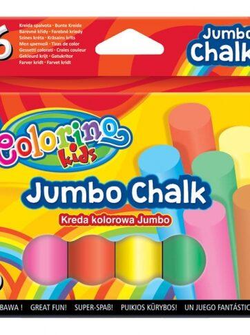 Zdjęcie Kreda kolorowa Jumbo - Colorino Kids - producenta PATIO