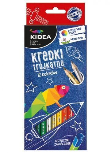 Zdjęcie Kredki 12 kolory trókątne DERFORM - producenta DERFORM