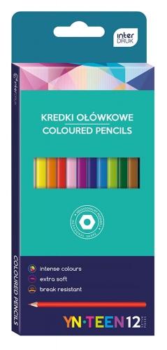Zdjęcie Kredki ołówkowe 12 kolorów - producenta INTERDRUK