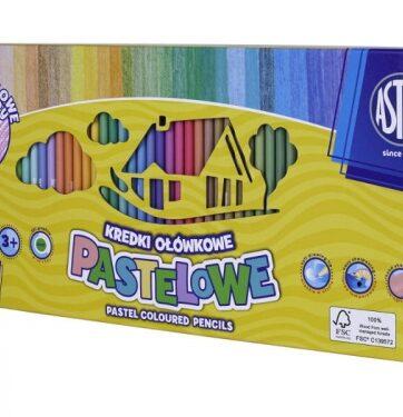 Zdjęcie Kredki pastelowe okrągłe 50 kolorów - Astra - producenta ASTRA