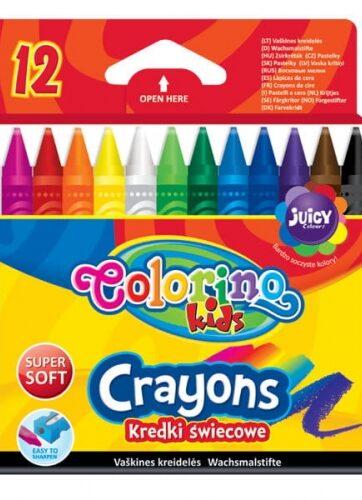 Zdjęcie Kredki świecowe 12 kolorów - Colorino Kids - producenta PATIO