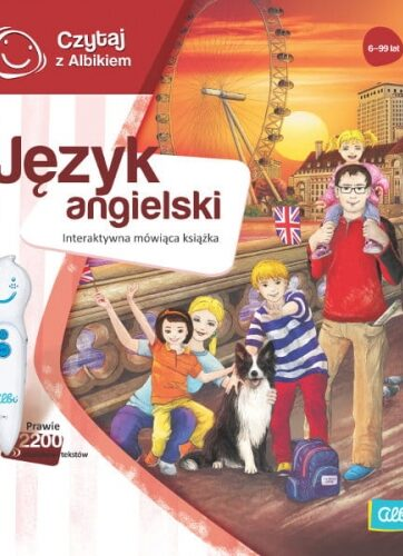 Zdjęcie Książka Albi Czytaj z Albikiem - Język Angielski - producenta ALBI