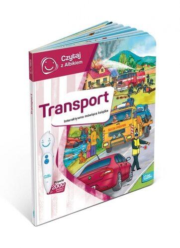 Zdjęcie Książka Albi Czytaj z Albikiem - Transport - producenta ALBI