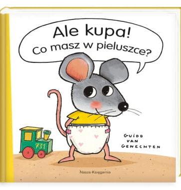 Zdjęcie Książka Ale kupa! Co masz w pieluszce? - producenta NASZA KSIĘGARNIA