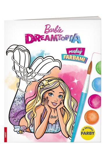 Zdjęcie Książka Barbie Dreamtopia Maluj farbami - producenta AMEET