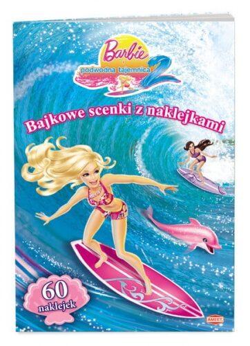 Zdjęcie Książka Barbie i podwodna tajemnica 2. Bajkowe scenki z naklejkami - producenta