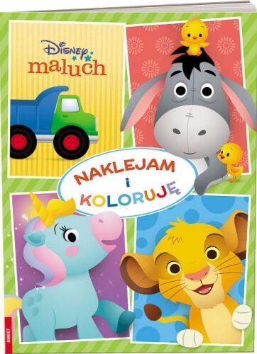 Zdjęcie Książka Disney Maluch Naklejam i koloruję - producenta