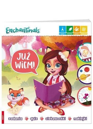 Zdjęcie Książka Enchantimals - Już wiem! - producenta AMEET